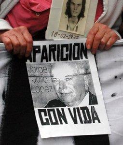 Y YA VAN DOS DESAPARECIDOS EN LA ARGENTINA DEMOCRÁTICA